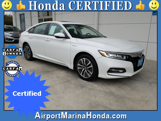 Certified Pre-Owned 2018 Honda Accord Hybrid EX-L