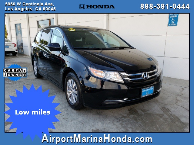 Owners Honda Com >> Pre Owned 2016 Honda Odyssey Ex L With Navigation