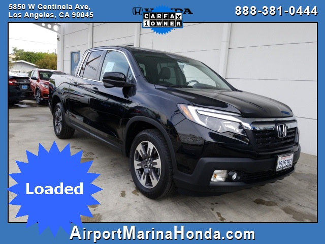 Pre Owned 2017 Honda Ridgeline Rtl T 4d Crew Cab In Los Angeles
