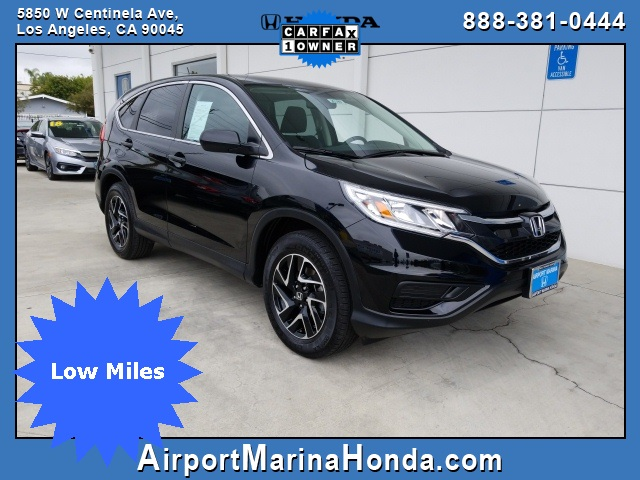 Certified Pre Owned 2016 Honda Cr V Se