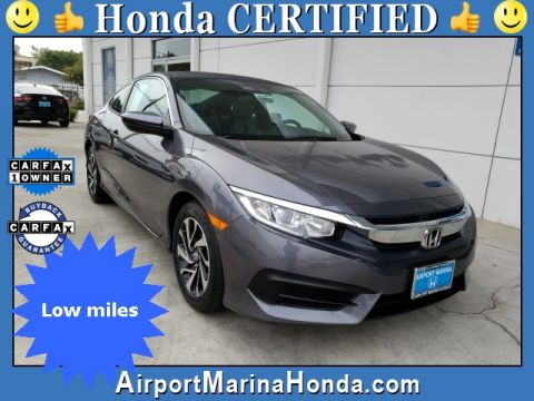 Certified Pre-Owned 2018 Honda Civic LX-P